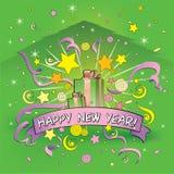 dekoracja nowy rok Zdjęcia Royalty Free