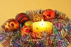 dekoracja nowy rok Fotografia Stock
