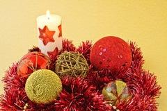 dekoracja nowy rok Fotografia Royalty Free