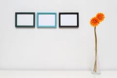 dekoracja obrazek ramowy domowy Obraz Stock