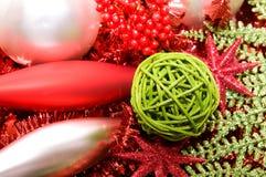 dekoracja ornamentuje xmas Zdjęcia Stock