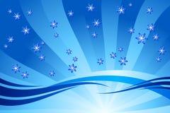 dekoracja płatek śniegu ilustracji