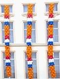 dekoracja queensday Zdjęcie Royalty Free