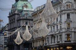 dekoracja Vienna świąteczne Zdjęcie Stock