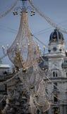 dekoracja Vienna świąteczne Obraz Stock