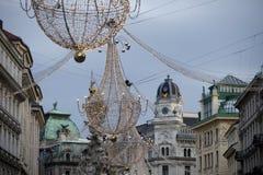 dekoracja Vienna świąteczne Zdjęcia Stock