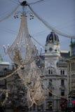 dekoracja Vienna świąteczne Zdjęcia Royalty Free