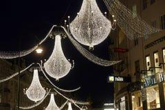 dekoracja Vienna świąteczne Fotografia Royalty Free
