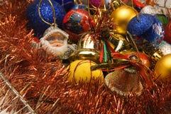 dekoracje świąteczne drzewne Obrazy Royalty Free