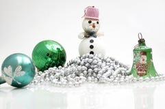 dekoracje świąteczne drzewne Obraz Royalty Free