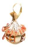 dekoracje świąteczne drzewne Zdjęcia Stock
