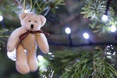 dekoracje świąteczne ekologicznego drewna Fotografia Stock