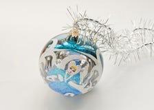 dekoracje świąteczne ekologicznego drewna Obrazy Stock
