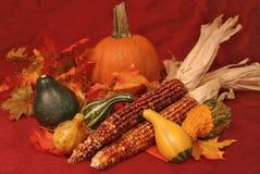 dekoracje jesienią Zdjęcia Royalty Free