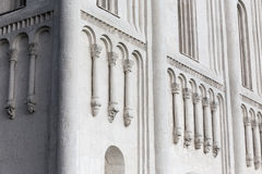 Dekoracje na ścianach Kościelna intercesja Święta dziewica na Ne Obrazy Royalty Free
