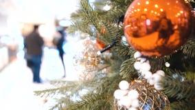 Dekoracje na Choince Zima wakacje Północny symbol abstrakcyjny tło zdjęcie wideo