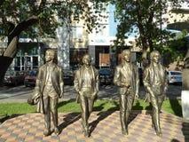 Dekoracje w mieście obrazy royalty free