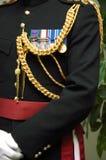 dekoracje wojskowe Zdjęcia Stock