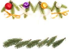 dekoracji świątecznej Obrazy Royalty Free