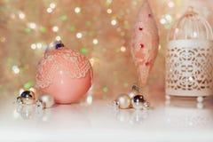 dekoracji świątecznej nowego roku Fotografia Stock