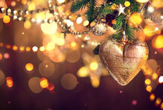 dekoracji świątecznej nowego roku kolor tła wakacje czerwonego żółty Obraz Stock