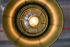 Dekoracyjna antykwarska żarówka z rocznika pojęciem zdjęcie stock
