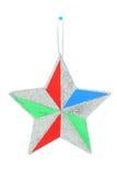 dekoracyjna Boże Narodzenie gwiazda Fotografia Stock