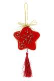 dekoracyjna Boże Narodzenie gwiazda Obraz Royalty Free
