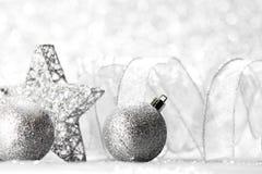 dekoracyjna Boże Narodzenie gwiazda Zdjęcia Stock