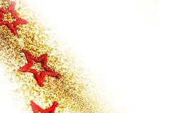 dekoracyjna Boże Narodzenie gwiazda Zdjęcia Royalty Free