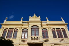 Dekoracyjna budynek fasada Obrazy Royalty Free