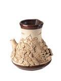 Dekoracyjna ceramiczna waza Zdjęcia Stock