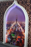 Dekoracyjna ściana zdjęcie royalty free