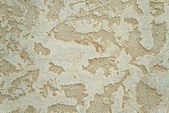 Dekoracyjna ściana. sztukateryjna tekstura Zdjęcia Royalty Free