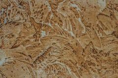 Dekoracyjna ściana. sztukateryjna tekstura Obraz Royalty Free