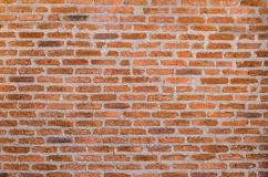 Dekoracyjna czerwona ściana z cegieł tekstura Zdjęcia Stock