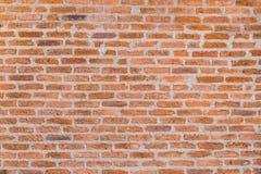 Dekoracyjna czerwona ściana z cegieł tekstura Obrazy Royalty Free