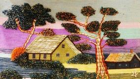 Dekoracyjna dywanik makata Obrazy Stock