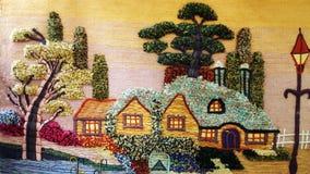 Dekoracyjna dywanik makata Fotografia Royalty Free