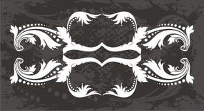 Dekoracyjna etykietka ilustracja wektor
