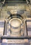 dekoracyjna external cechy marmuru ściana Zdjęcie Stock