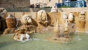 Dekoracyjna fontanna zbiory wideo