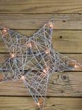 dekoracyjna gwiazda Obrazy Stock