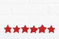 dekoracyjna gwiazda Zdjęcie Royalty Free
