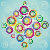 dekoracyjna ilustracja Zdjęcie Stock