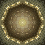 Dekoracyjna Islamska Podsufitowa sztuka Fotografia Royalty Free