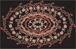 Dekoracyjna kolorowa rama ilustracji