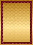 Dekoracyjna lista świadectwo Zdjęcie Royalty Free
