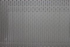 Dekoracyjna metal wentylaci grille tekstura Obraz Royalty Free