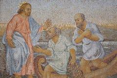 Dekoracyjna mozaika obraz royalty free